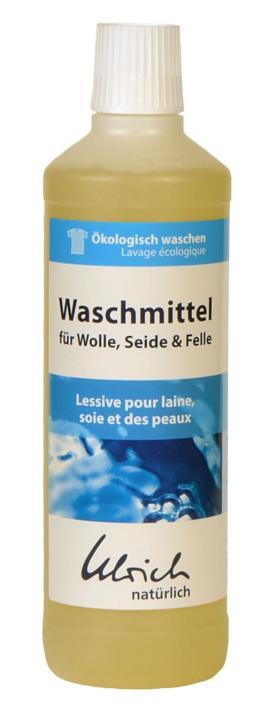 Ulrich Natürlich Waschmittel Wolle & Seide rückfettend mit Lanolin