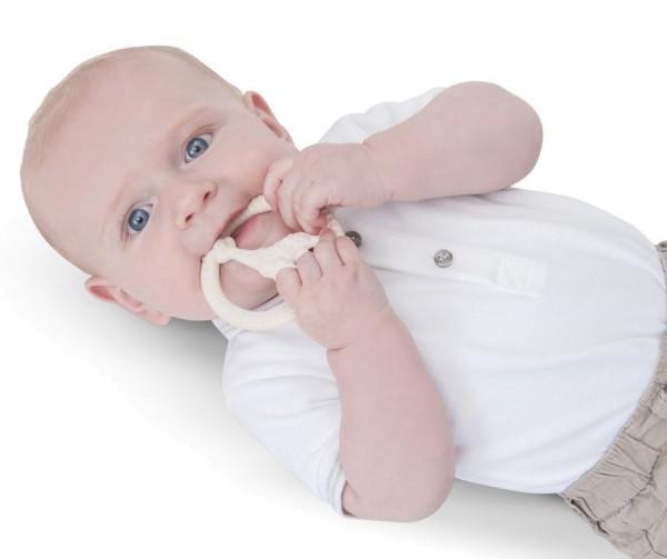 Beißring SO'PURE von Sophie la girafe in weiß für Babys