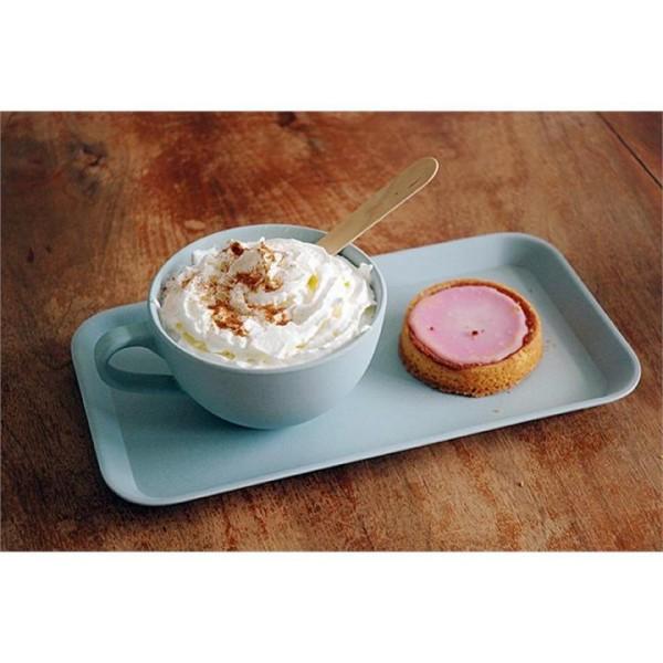 Frühstücks-Tablett klein aus BIO Bambus & Mais von Zuperzozial