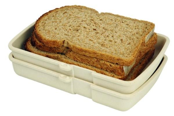 Zuperzozial Brotbox & Brotdose LUNCHTIME aus Bambus & Mais