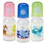 Baby-Nova Babytrinkglasflaschen für Tee & Säfte 125ml
