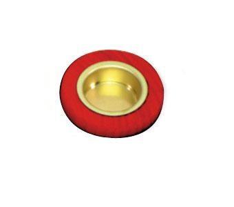 Hess-Spielzeug Lebenslicht-Halter aus Holz in rot
