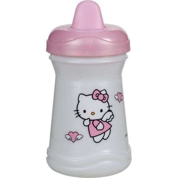 AsMi Trinklernbecher in rosa 300ml mit Aufdruck Hello Kitty