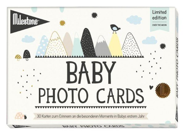 Milestone Baby Photocards deutsch - mein erstes Lebensjahr
