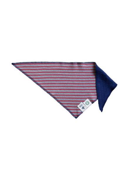 Baby Dreieckstuch Ocean aus Bio Baumwolle 50x20 cm von Leela Cotton