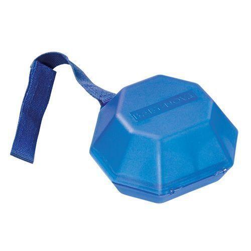 Baby-Nova Schnullerbox & Schnullerdose in blau mit Klettband