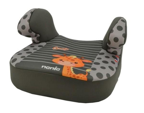 Kindersitzerhöhung Nania DREAM PLUS in grau Motiv Giraffe