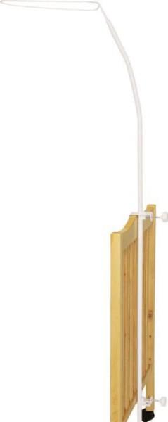 Fillikid Himmelbettt-Schleierstange LUXUS in weiß