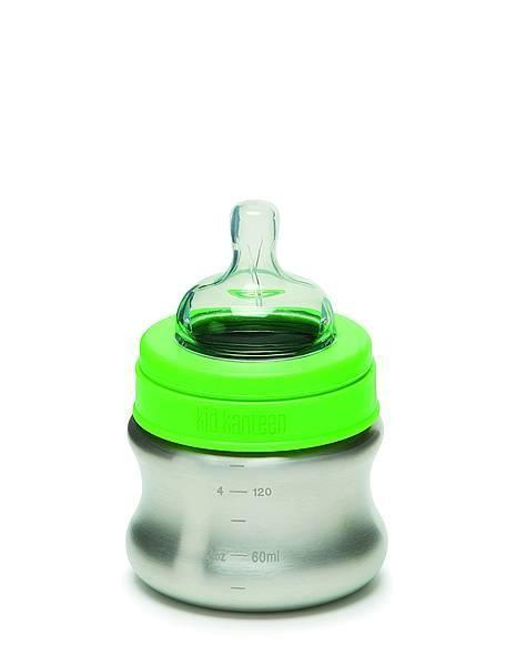 Klean Kanteen Babyflasche aus Edelstahl 148ml langsamer Trinkfluss