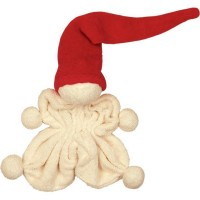 Bio Baby-Kuschelpuppe LITTLE COZY mit roter Mütze von Keptin jr