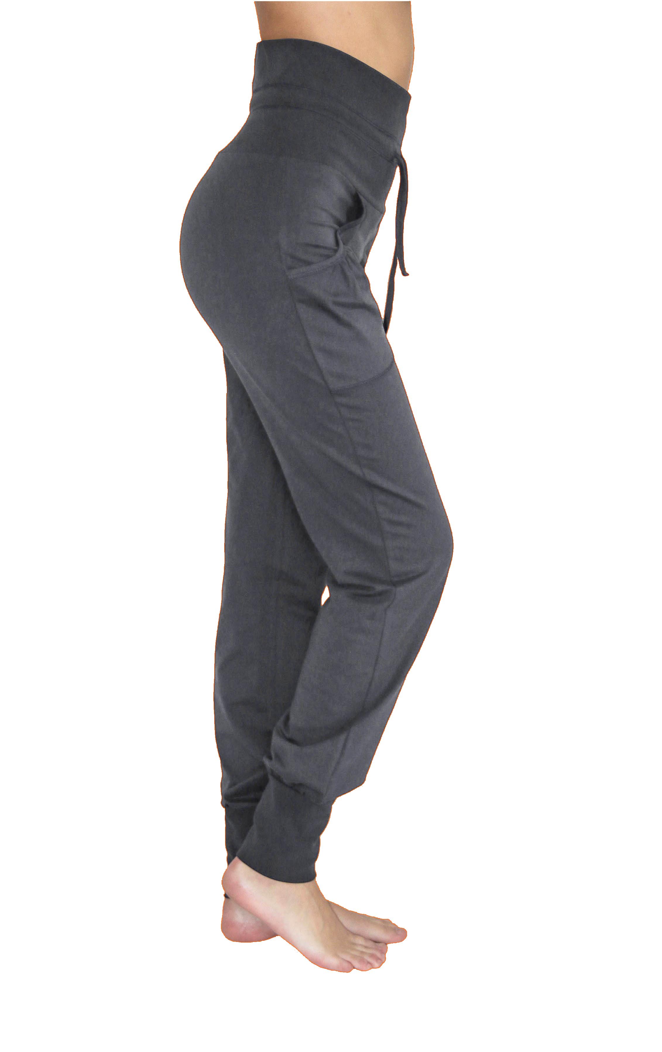 e3f923b77d88 ... Vorschau  Leela Cotton Damen Yogahose mit Taschen Bio-Baumwolle    Elasthan