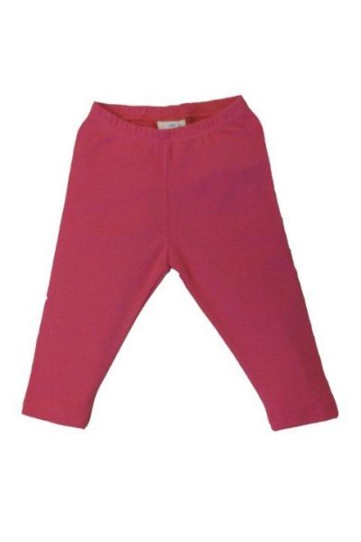 Leela Cotton Leggings Helgoland aus Bio Baumwolle in Himbeer-Rot