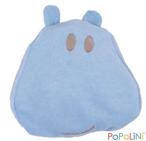 Hippo Kirschlernkissen blau