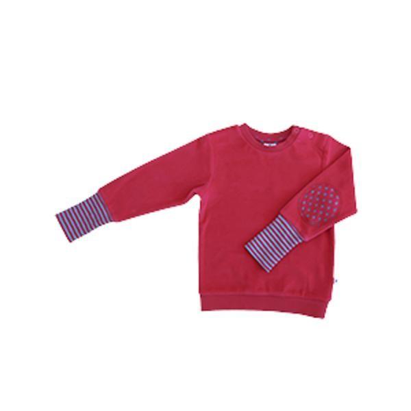 Leela Cotton Nicky Sweatshirt Isfahan in persisch-rot aus Bio-Baumwolle