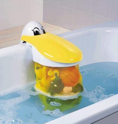 Badespielzeug-Sammler PELIKAN von KidsKit by Rotho Babydesign