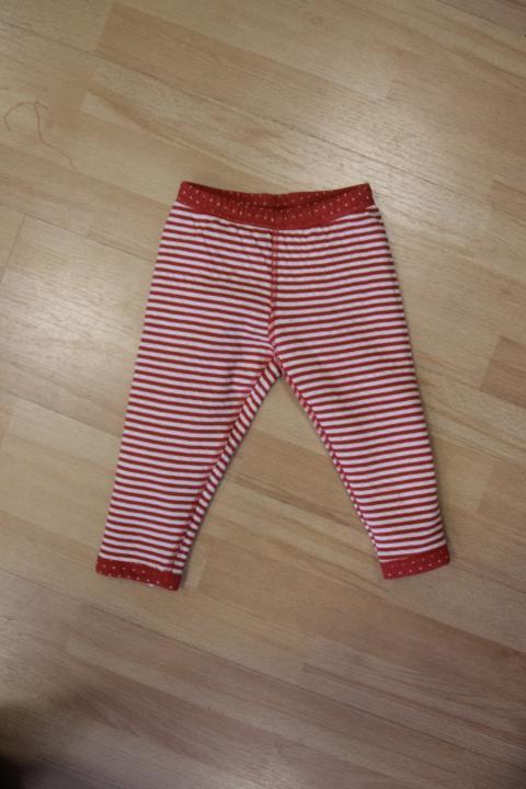 Leela Cotton Baby//Kinder Leggings geringelt Bio-Baumwolle