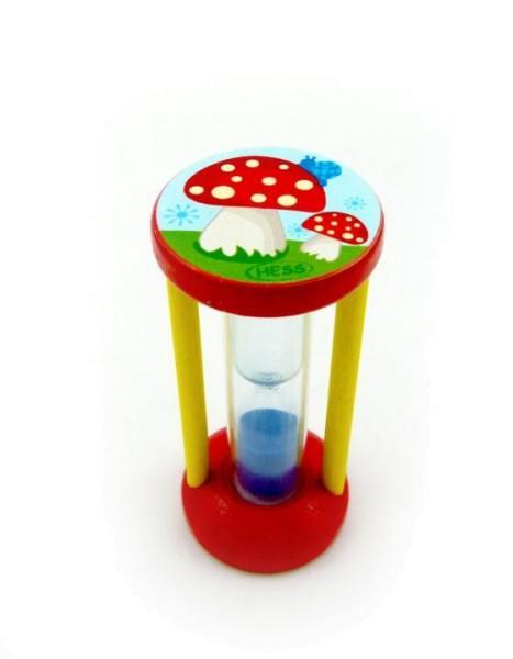 Zahnputzuhr Pilz von Hess Spielzeug