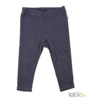 Bio Baby-Leggings in grau aus GOTS Baumwolle von iobio