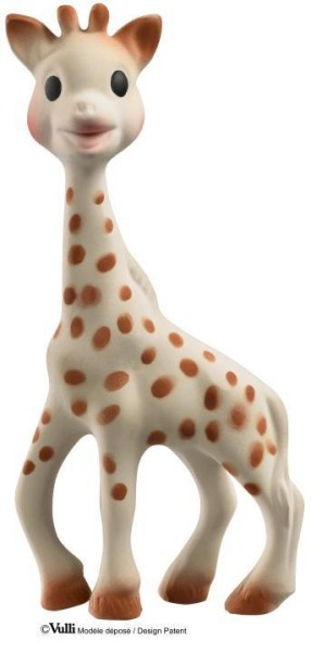 Beißring Giraffe SO'PURE aus Naturkautschuk von Sophie la girafe