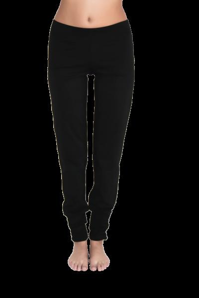 843e163455bf Leela Cotton Yogahose in schwarz aus Bio-Baumwolle mit Elasthan