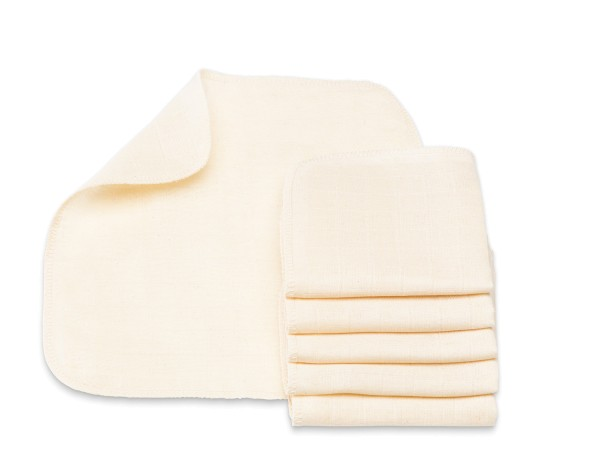 Bio Mull-Waschlappen für Babys von Cotonea