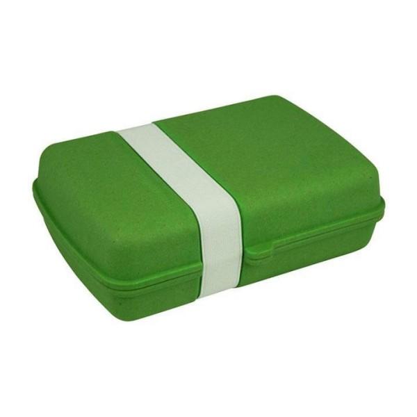 zuperzozial Lunchtime Brotdose in grün aus Bambus & Mais