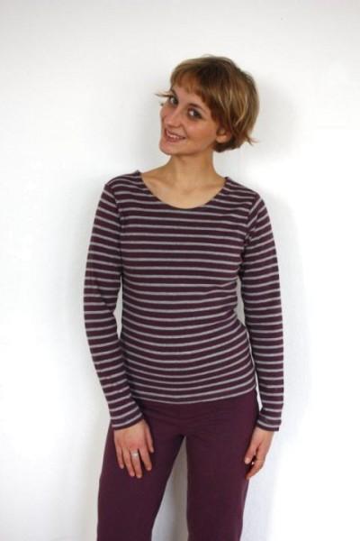 90390a5fe1cc Damen Langarm-Shirt aus 100% Bio Baumwolle GOTS von Leela Cotton