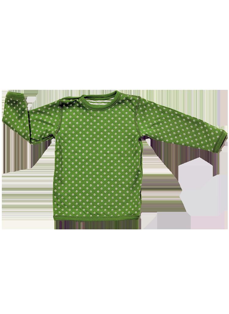 ... Vorschau  Langarm-Wendeshirt für Kinder und Babys Weserstrand von Leela  Cotton b9645482e5