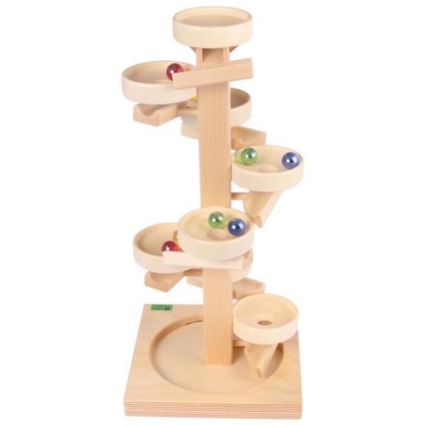 Tellerturm Spiel aus Holz in natur von Beck-Holzspielzeug