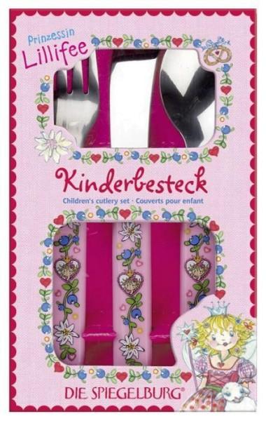 Spiegelburg Kinderbesteck Prinzessin Lillifee in rosa
