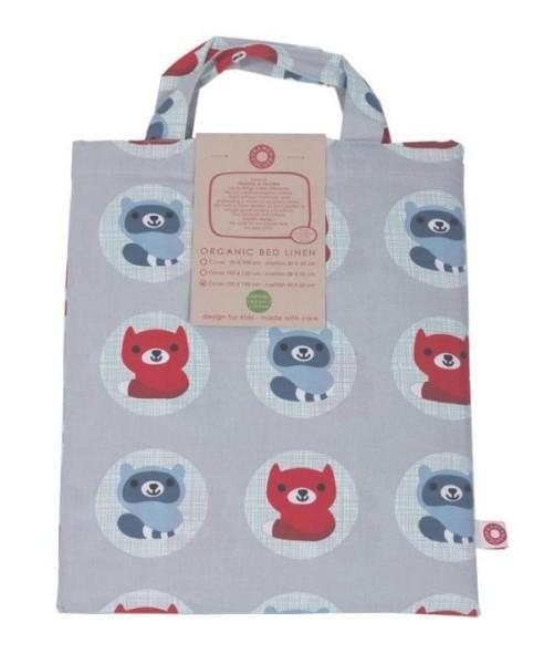Kinderbettwäsche aus Bio-Baumwolle SVANTE 100x135cm