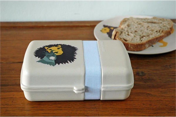 Zuperzozial Kinder-Lunchbox aus Bambusfasern & Mais