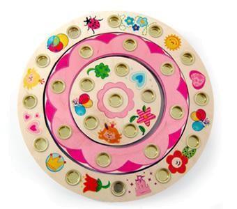 Mädchen Geburtstagsring aus Holz Prinzessin von Hess-Spielzeug