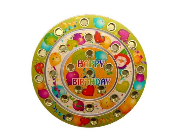 Großer Geburtstagsring Happy Birthday von Hess
