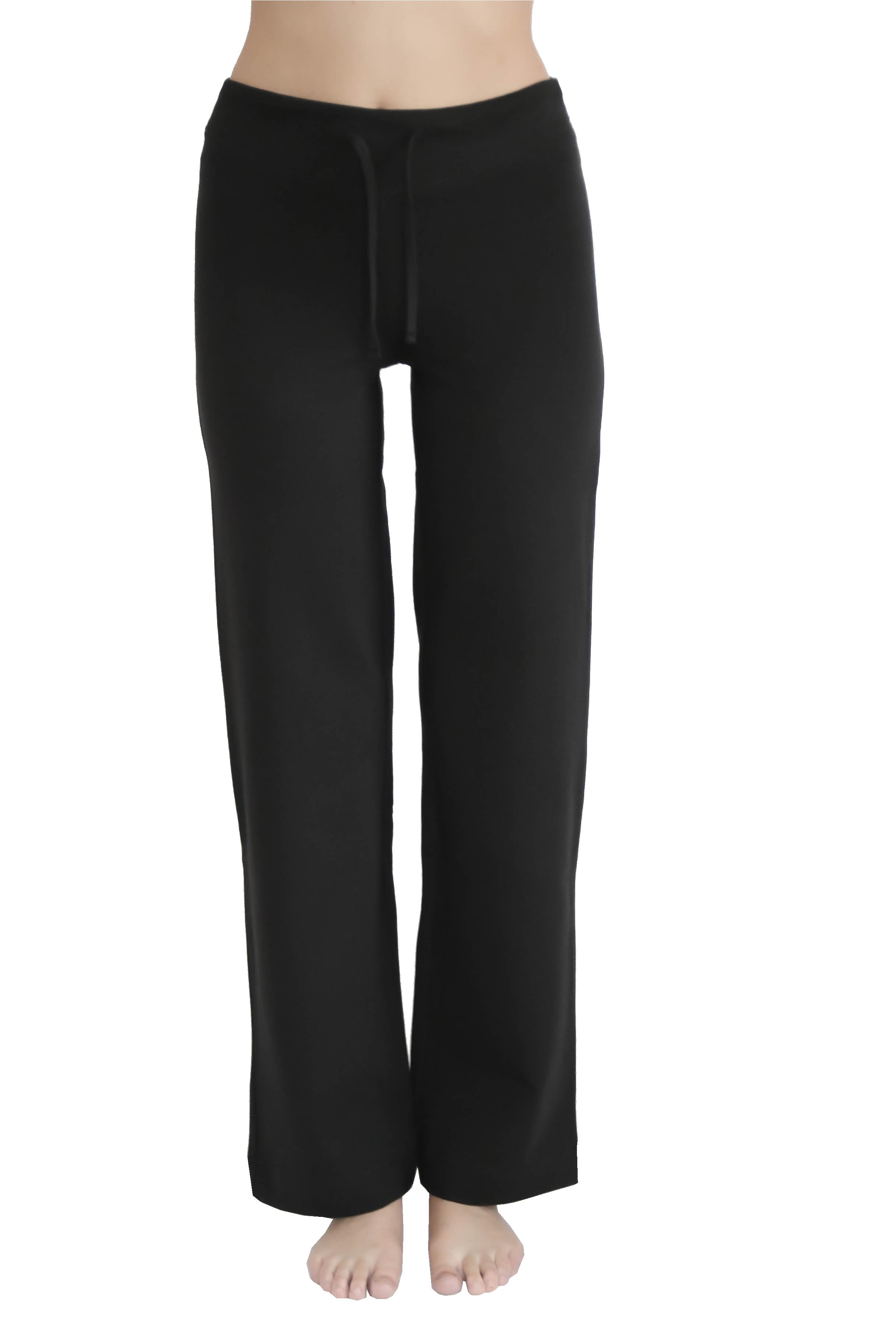 a82210ecf840 ... Elasthan · Vorschau  Damenhose in schwarz aus Bio-Baumwolle von Leela  Cotton