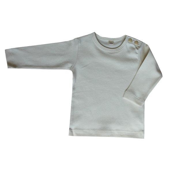 Leela Cotton Langarm-Shirt aus Bio Baumwolle in Natur
