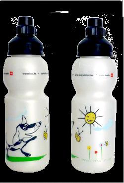 Fizzi Trinkflasche 330 ml Hund