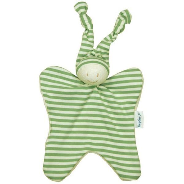 Keptin Jr Schmusetuch-Puppe ZMOOZ in grün-gestreift