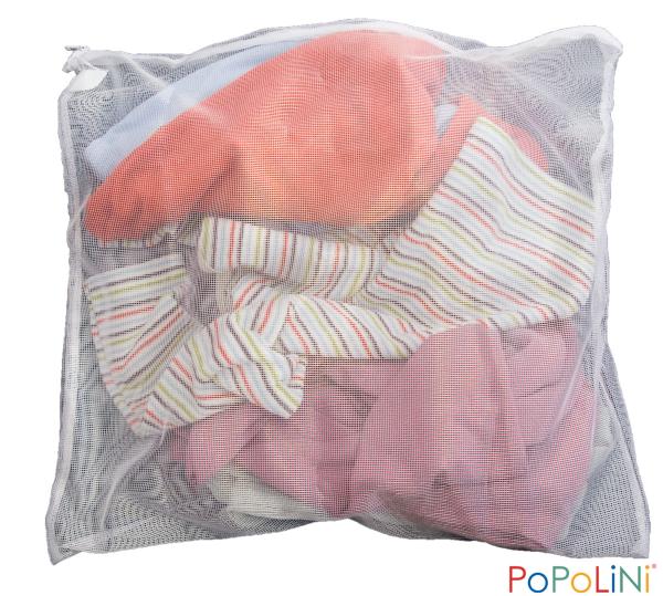 kleines Wäschenetz für Babywäsche 40x40 cm von Popolini