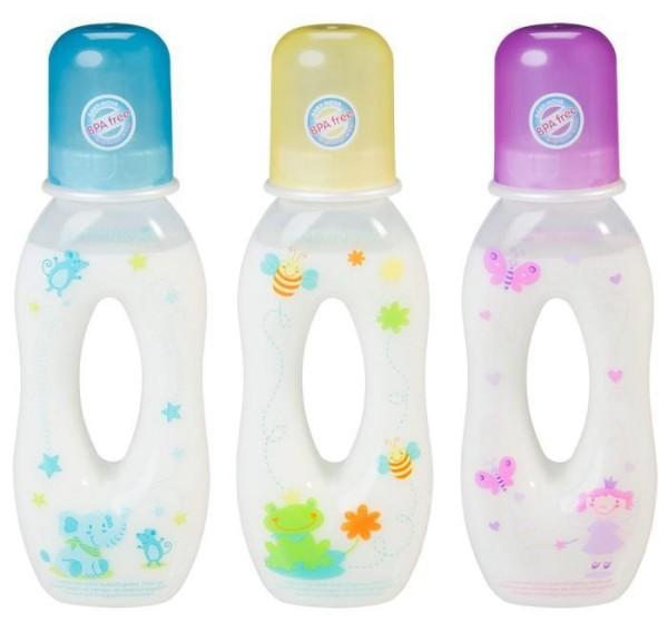 Trinklernflaschen Greifflaschen aus PP 250ml von Baby-Nova